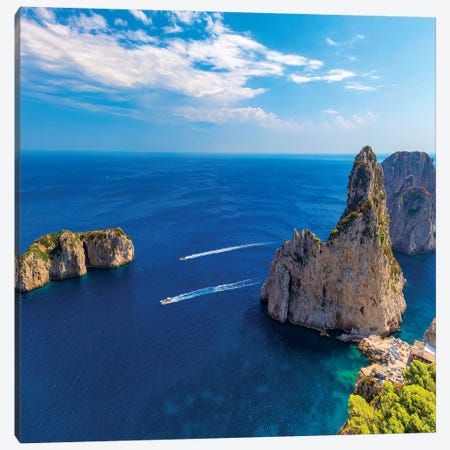 Beautiful Capri Canvas Print #MAO133} by Marco Carmassi Canvas Print