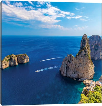 Beautiful Capri Canvas Art Print