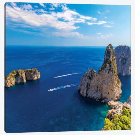 Beautiful Capri Canvas Print #MAO133} by Marco Carmassi Canvas Print