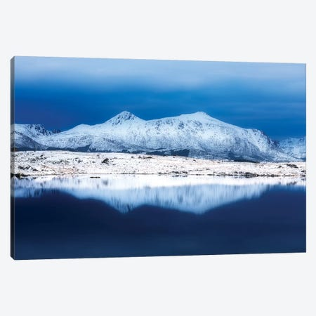 Blue Reflection Canvas Print #MAO135} by Marco Carmassi Canvas Art