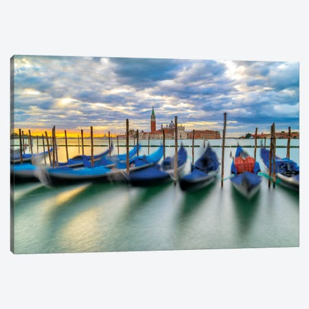 Cradled By The Waves Canvas Print #MAO141} by Marco Carmassi Canvas Art