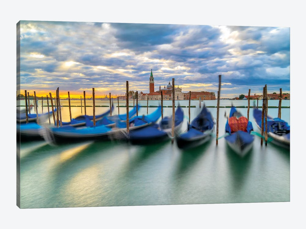 Cradled By The Waves by Marco Carmassi 1-piece Canvas Print