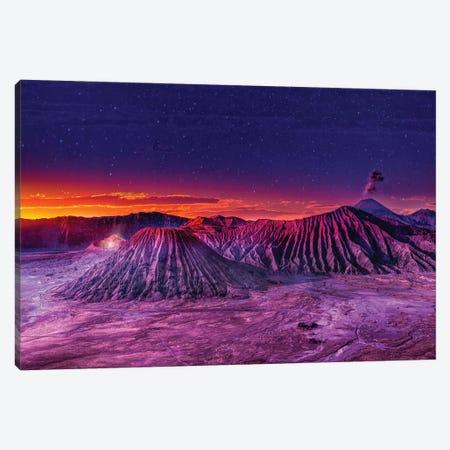 Mt Bromo Canvas Print #MAO14} by Marco Carmassi Canvas Artwork