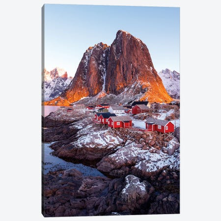Hamnoy Canvas Print #MAO150} by Marco Carmassi Canvas Print