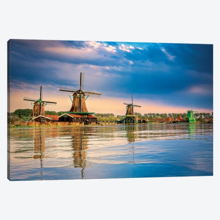 Holland Memories Canvas Print #MAO152} by Marco Carmassi Canvas Print