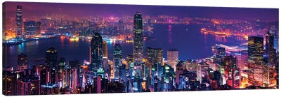 Hong Kong Special View Canvas Art Print