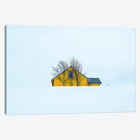 Little Yellow House Canvas Print #MAO161} by Marco Carmassi Canvas Art