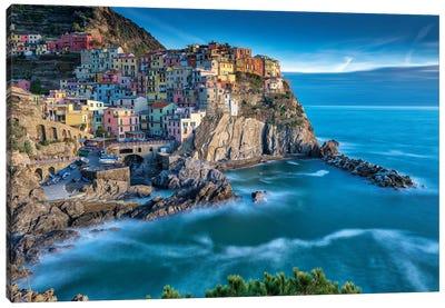Manarola Italy Memories Canvas Art Print