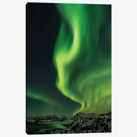 Nothern Lights Canvas Print #MAO169} by Marco Carmassi Canvas Wall Art