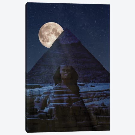The Dark Side Of The Pyramid Canvas Print #MAO17} by Marco Carmassi Canvas Art