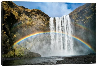 Skogafoss Canvas Art Print