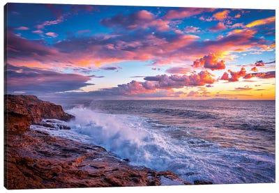 Stormy Sea Canvas Art Print