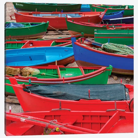 Suggestive Boats 3-Piece Canvas #MAO190} by Marco Carmassi Art Print