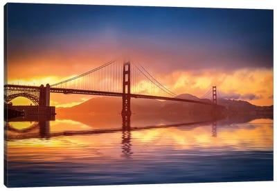The Bridge Canvas Art Print