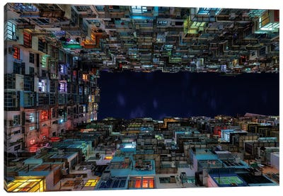 The Grid Quarry Bay Canvas Art Print