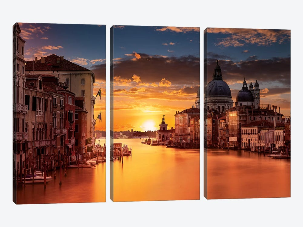 Venice by Marco Carmassi 3-piece Canvas Art