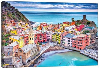 Vernazza Canvas Art Print
