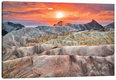 Zabriskie Canvas Art Print