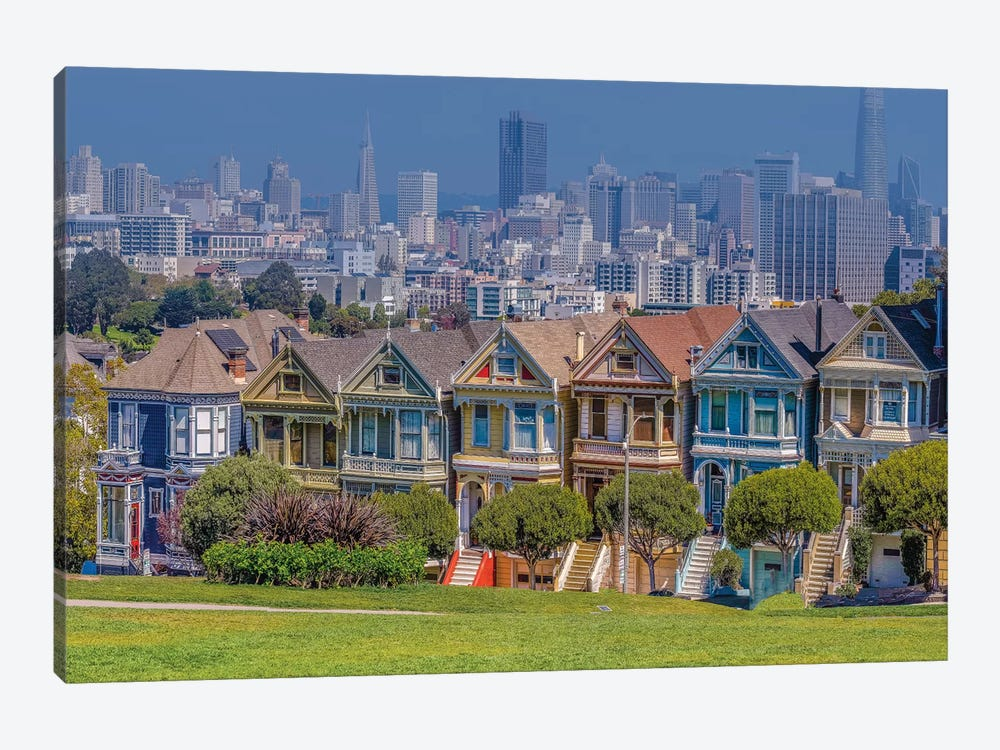 Relaxing in San Francisco by Marco Carmassi 1-piece Canvas Print