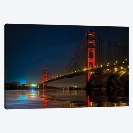 The Bridge Of Memories Canvas Print #MAO218} by Marco Carmassi Canvas Wall Art