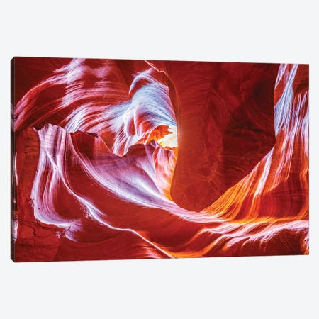 Antelope Wave Canvas Print #MAO222} by Marco Carmassi Art Print
