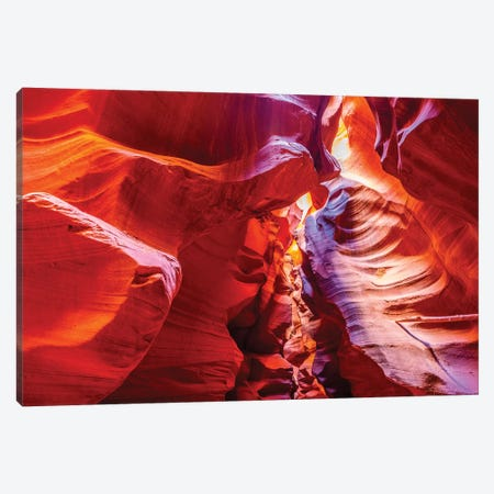 Inside Antelope Canyon Canvas Print #MAO228} by Marco Carmassi Art Print