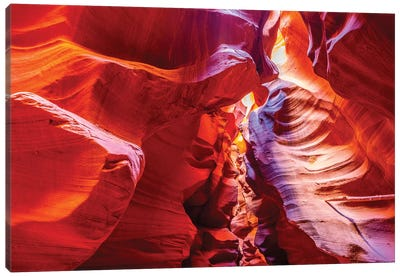 Inside Antelope Canyon Canvas Art Print