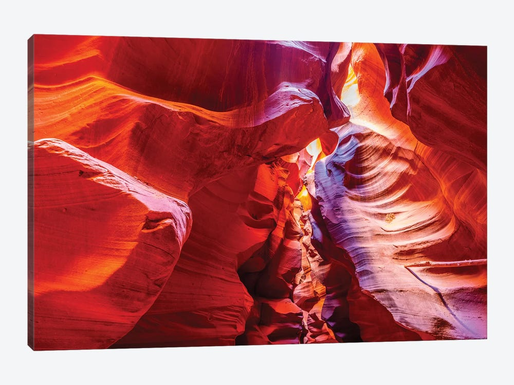 Inside Antelope Canyon by Marco Carmassi 1-piece Canvas Art