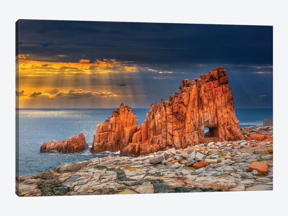 Arbatax Red Rock by Marco Carmassi 1-piece Canvas Artwork