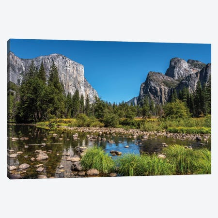 Yosemite View Canvas Print #MAO240} by Marco Carmassi Canvas Print