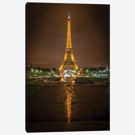 Gold Tower Reflection Canvas Print #MAO24} by Marco Carmassi Canvas Art Print