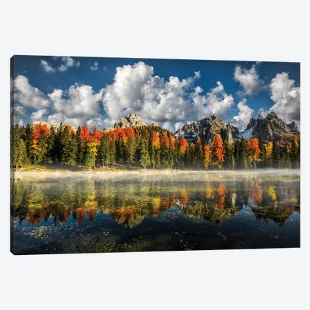 Misurina Antorno Lake Canvas Print #MAO2} by Marco Carmassi Canvas Artwork