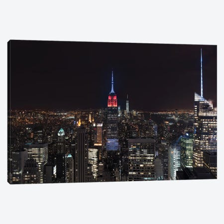 Empire By Night Canvas Print #MAO32} by Marco Carmassi Art Print
