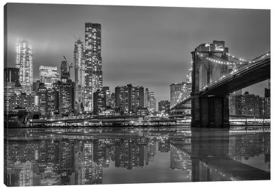 The Bridge NY Canvas Art Print