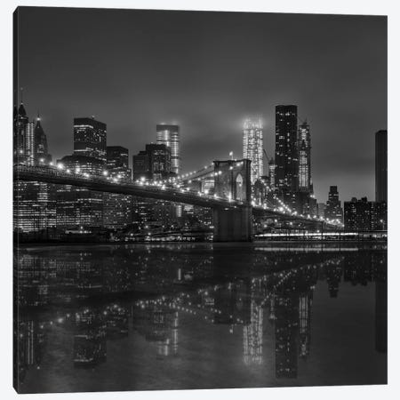 Brooklyn Canvas Print #MAO42} by Marco Carmassi Canvas Wall Art