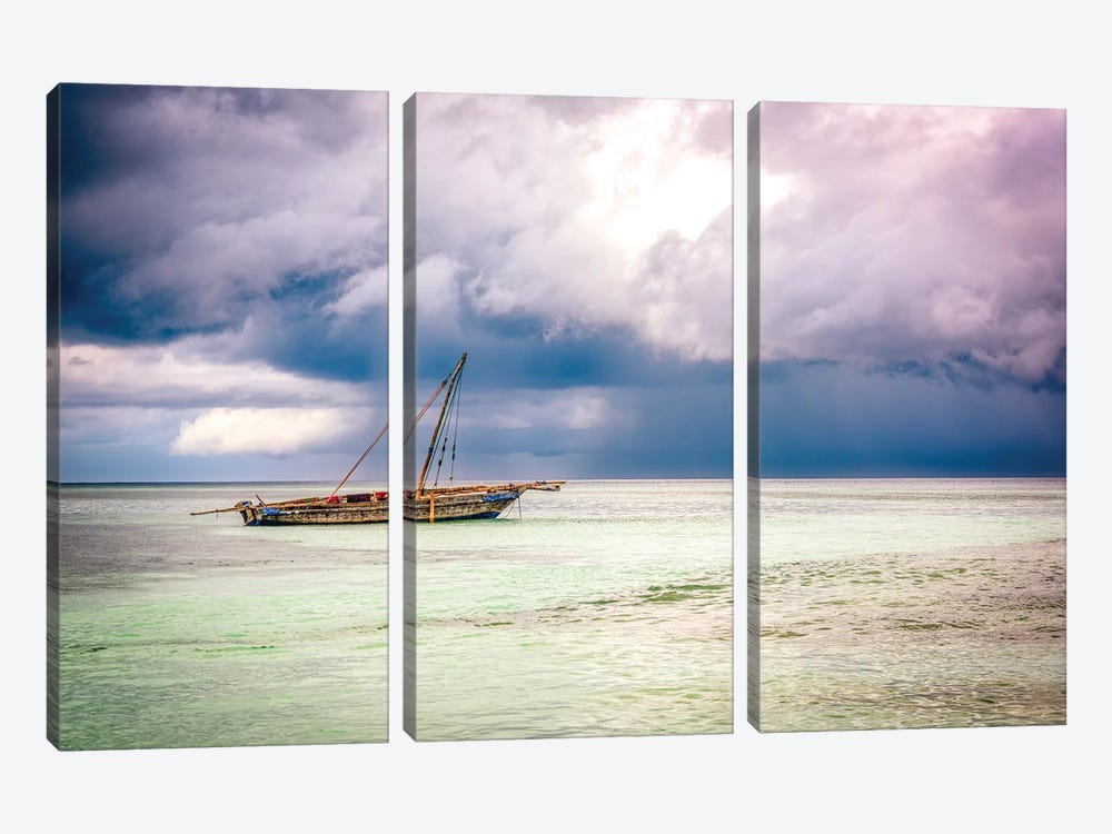 Before The Storm by Marco Carmassi 3-piece Canvas Wall Art