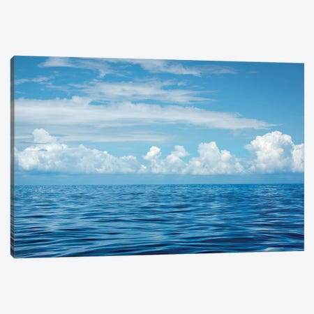 Indian Ocean 3-Piece Canvas #MAO51} by Marco Carmassi Canvas Print