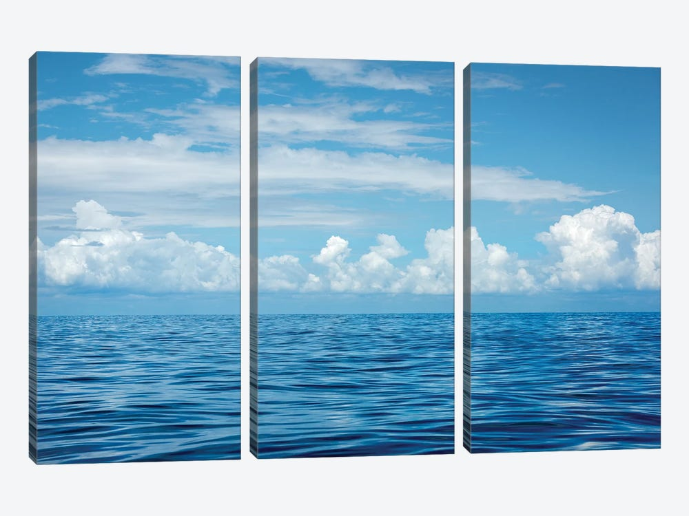 Indian Ocean by Marco Carmassi 3-piece Canvas Print