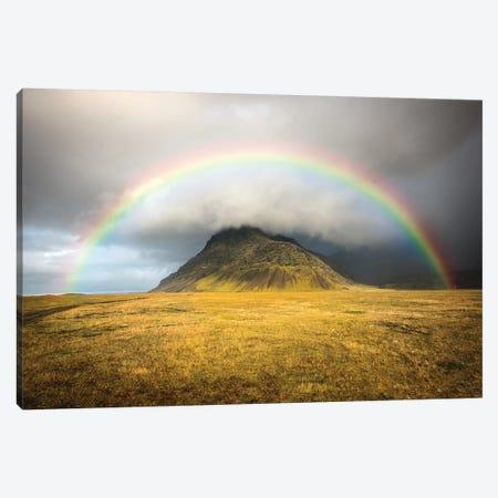 Heaven's Rainbow Iceland Canvas Print #MAO53} by Marco Carmassi Art Print