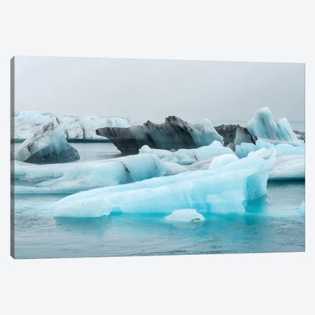 Ice Iceland Canvas Print #MAO56} by Marco Carmassi Canvas Artwork