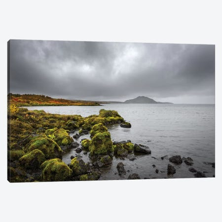 Iceland Landscape Canvas Print #MAO57} by Marco Carmassi Canvas Artwork