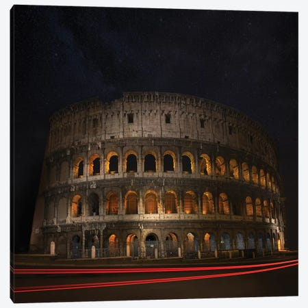 Colosseum Ancient History Canvas Print #MAO61} by Marco Carmassi Canvas Art