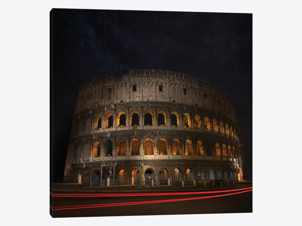Colosseum Ancient History by Marco Carmassi 1-piece Canvas Art