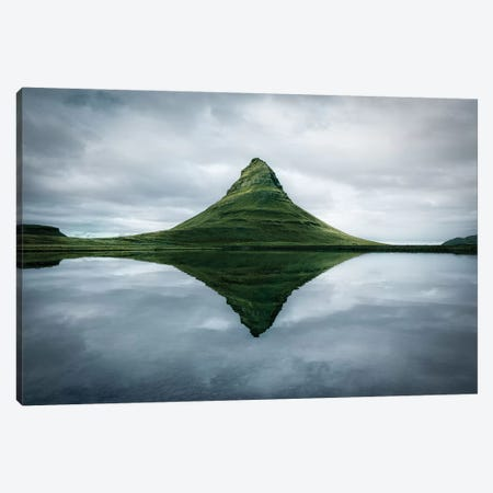 Kirkjufell The Meditation Place - Canvas Print #MAO63} by Marco Carmassi Canvas Art