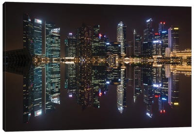 Singapore Skyline Canvas Art Print