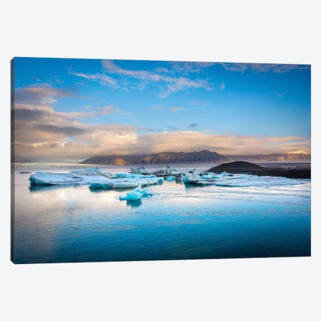 Blue Lagoon Canvas Print #MAO74} by Marco Carmassi Canvas Artwork