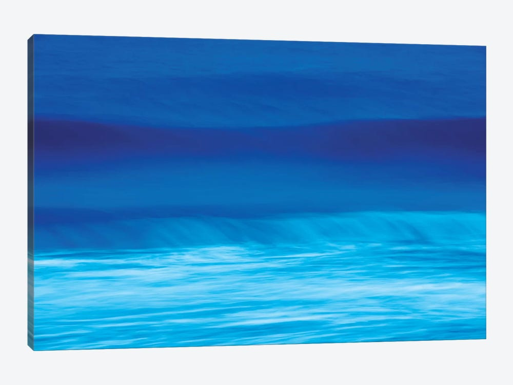 Blue Waves by Marco Carmassi 1-piece Canvas Print