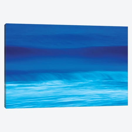 Blue Waves Canvas Print #MAO93} by Marco Carmassi Art Print