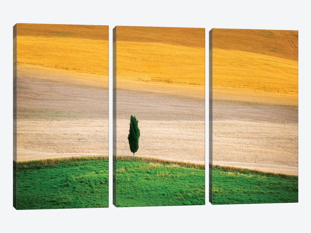 Tuscany Land by Marco Carmassi 3-piece Art Print
