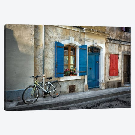 Arles Bicycle Canvas Print #MAO9} by Marco Carmassi Canvas Artwork